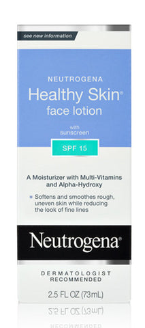 Neutrogena Healthy Skin Face Lotion SPF 15 2.5 oz