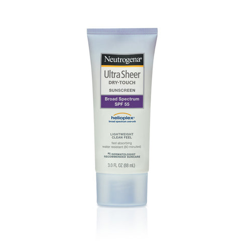 Neutrogena Ultra Sheer Dry-touch Sunscreen Broad Spectrum SPF 55 3 oz