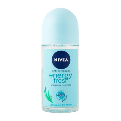 Nivea Energy Fresh Roll On Antiperspirant 50 ml