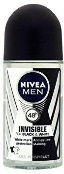 Nivea Men Invisible For Black & White Anti-Perspirant Roll On 50 ml
