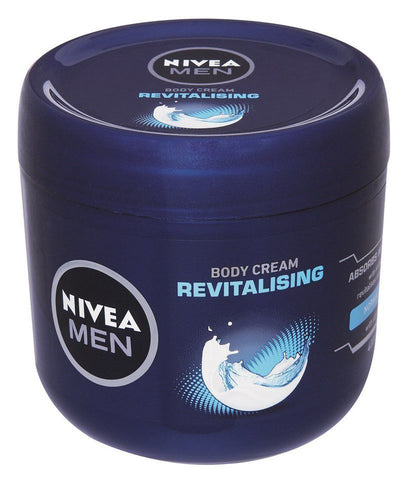 Nivea Men Revitalising Body Cream 400 ml