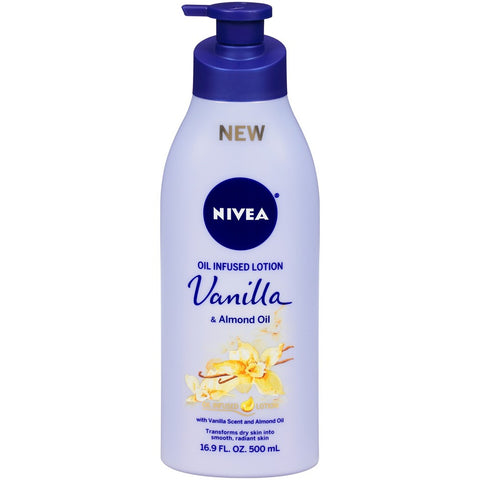 Nivea Oil Infused Lotion Vanilla & Almond Oil 16.9 oz