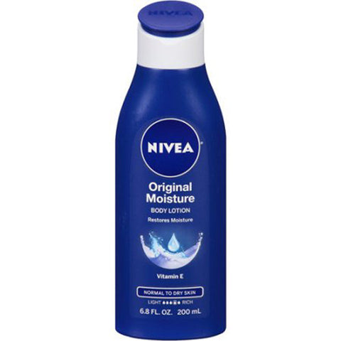 Nivea Original Moisture Body Lotion 6.8 oz