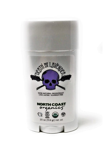 North Coast Organics Death by Lavender 100% Natural Deodorant 2.5 oz