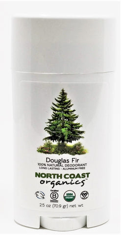 North Coast Organics Douglas Fir 100% Natural Deodorant 2.5 oz