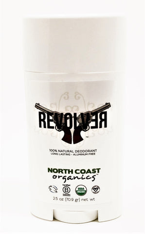 North Coast Organics Revolver 100% Natural Deodorant 2.5 oz