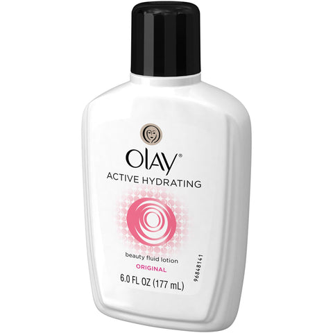 Olay Active Hydrating Beauty Fluid Lotion Original 6 oz