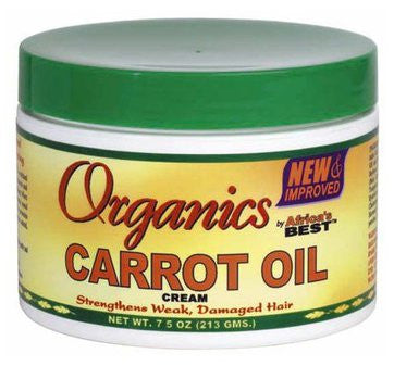 Organics by Africa's Best Carrot Oil Cream 7.5 oz.