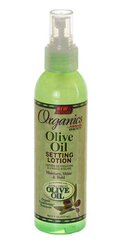 Organics by Africa's Best Olive Oil Setting Lotion 6 oz.