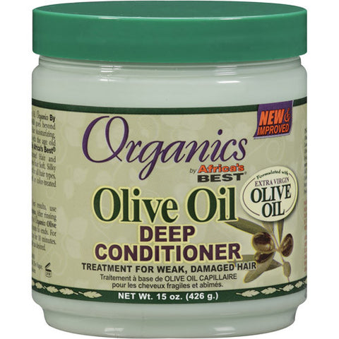 Organics by Africa's Best Olive Oil Deep Conditioner 15 oz.
