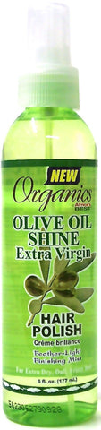 Organics by Africa's Best Olive Oil Shine Extra Virgin Hair Polish 6 oz.