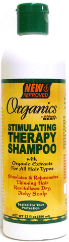 Organics by Africa's Best Stimulating Therapy Shampoo 12 oz.