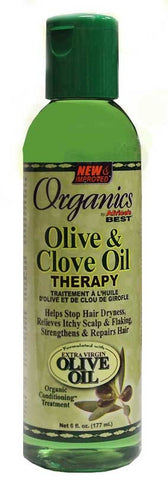 Organincs by Africa's Best Olive & Clove Oil Therapy 6 oz.