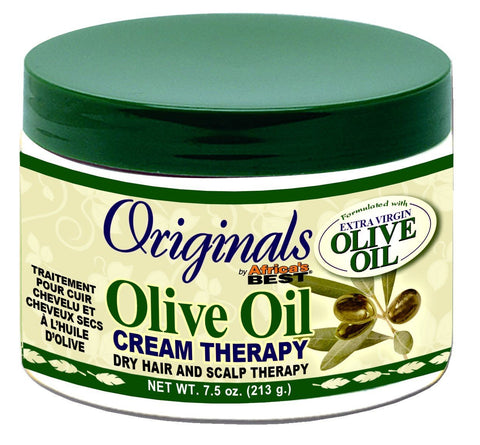 Original's by Africa's Best Olive Oil Crean Therapy 7.5 oz