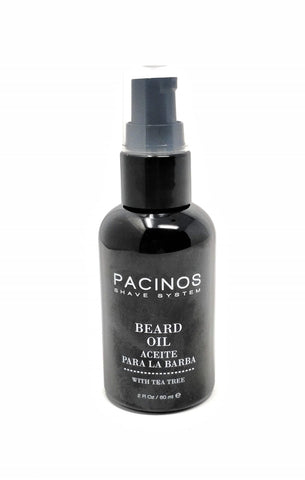 Pacinos Shave System Beard Oil 2 oz