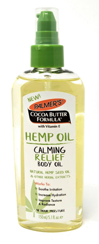 Palmer's Cocoa Butter Formula Hemp Oil Calming Relief Body Oil 5.1 oz