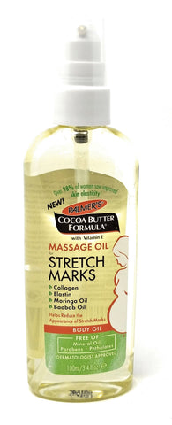 Palmer's Cocoa Butter Formula Massage Oil For Stretch Marks 3.4 oz