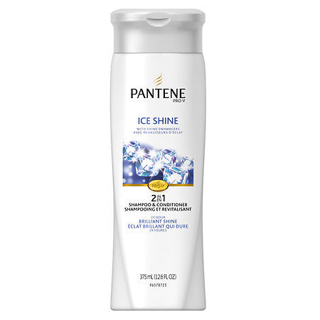 Pantene Pro-V Ice Shine 2 in 1 Shampoo & Conditioner 12.6 oz