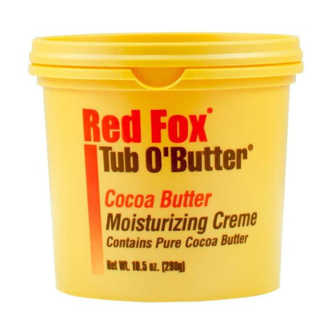 Red Fox Tub O' Butter Cocoa Butter Moisturizing Creme 10.5 oz