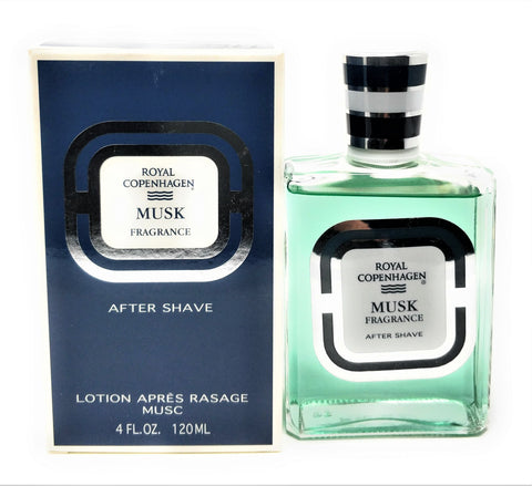 Royal Copenhagen After Shave Musk Fragrance 4 oz