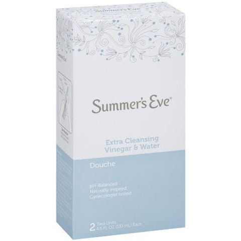 Summer's Eve Douche Extra Cleansing Vinegar & Water 2 Units