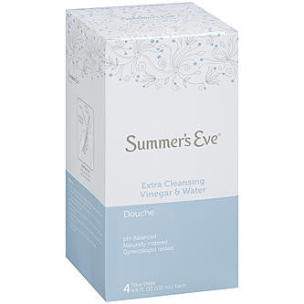Summer's Eve Douche Extra Cleansing Vinegar & Water 4 Units