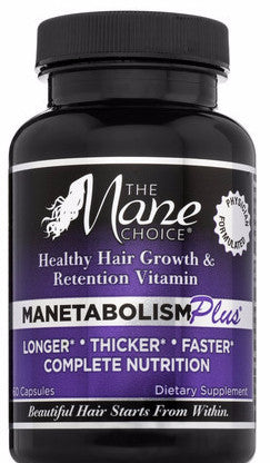 The Mane Choice Manetabolism Plus Dietary Supplement 60 Capsules