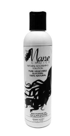 The Mane Choice Pure Vegetable Glycerin 100% Natural 8 oz