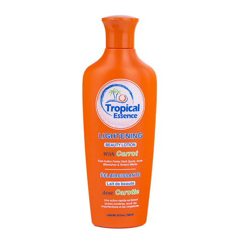 Tropical Essence Lightening Beauty Lotion with Carrot 16.8 oz