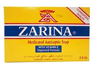Zarina Medicated Soap 2.6 oz