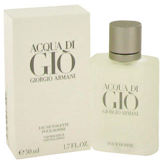 Acqua di Gio by Giorgio Armani For Men Eau de Toilette Spray 1.7 oz.