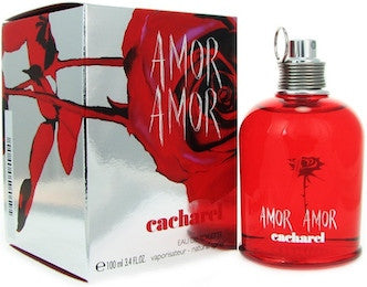 Amor Amor by Cacharel For Women Eau de Toilette Spray 3.4 oz.