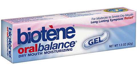 Biotene Oral Balance Dry Mouth Moisturizing Gel 1.5 oz.