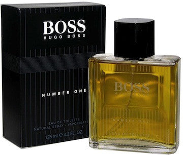 Boss Number One by Hugo Boss For Men Eau de Toilette Spray 4.2 oz.