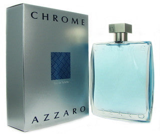 Chrome by Azzaro for Men Eau de Toilette Spray 3.4 oz.
