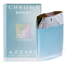 Chrome Sport by Azzaro For Men Eau de Toilette Spray 1.7 oz.