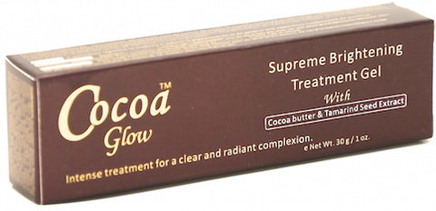 Cocoa Glow Supreme Brightening Treatment Gel 1 oz.