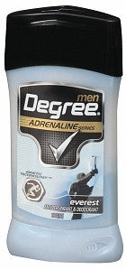 Degree Men Adrenaline Series Solid Antiperspirant Deodorant Everest 2.7 oz.