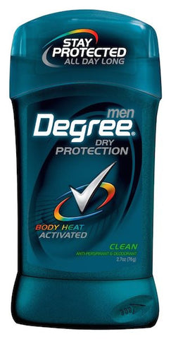 Degree Men Dry Protection Antiperspirant Deodorant Clean 2.7 oz.