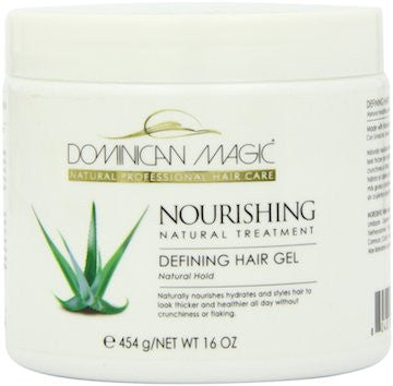 Dominican Magic Nourishing Natural Treatment Defining Hair Gel 16 oz.