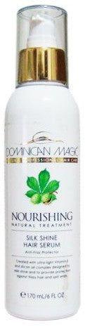 Dominican Magic Nourishing Natural Treatment Silk Hair Serum 6 oz.