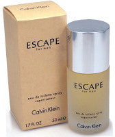 Escape by Calvin Klein For Men Eau de Toilette Spray 1.7 oz.