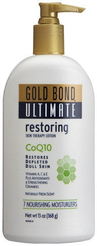Gold Bond Ultimate Skin Therapy Lotion Restoring with CoQ10 13 oz.