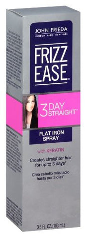 John Frieda Frizz-Ease 3-Day Straight Flat Iron Spray 3.5 oz.