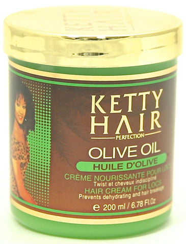Ketty Hair Perfection Olive Oil Hair Cream for Locs 6.78 oz.