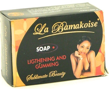 La Bamakoise Lightening and Gumming Soap 225 g