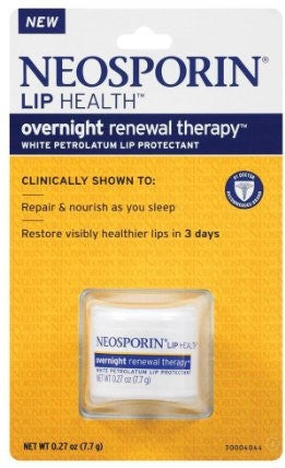 Neosporin Lip Health Overnight Renewal Therapy 0.27 oz.