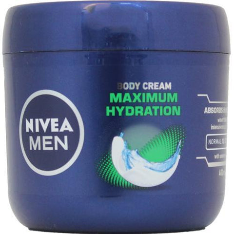 Nivea Men Body Cream Maximum Hydration 400 ml