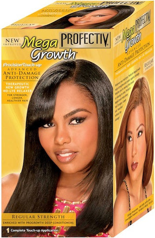 Profectiv Mega Growth Procision Touch-Up No-Lye Relaxer Regular Strength 1 Application