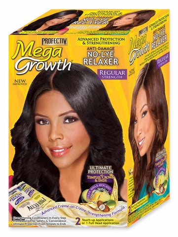 Profectiv Mega Growth Anti-Damage No-Lye Relaxer Regular, 2 Applications